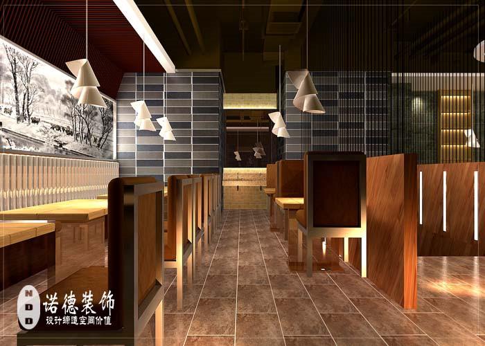 港式茶餐厅装修效果图